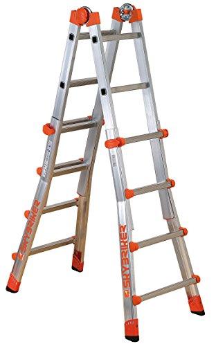 Gierre Peppina - Telescopic Ladder (Aluminium EN131), Peppina