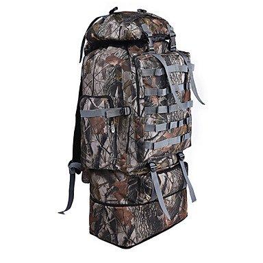 100 L Wandern Camping Camping / Wandern / Erkundungen Reise Camping & Wandern Windundurchlässig Wasserdicht Multifunktion Black