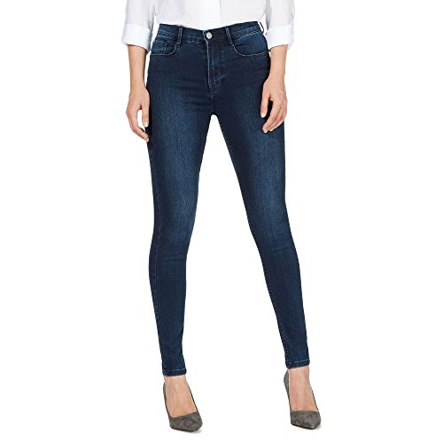 j-by-jasper-conran-womens-blue-sculpt-and-lift-high-waisted-skinny-jeans-12p