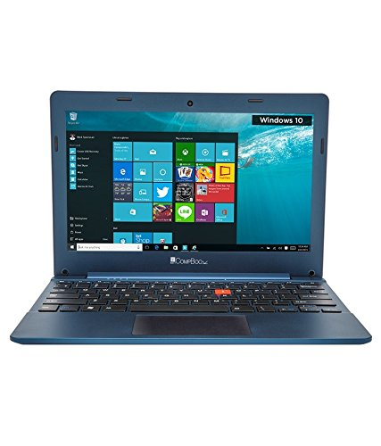 iBall CompBook Excelance Laptop, 11.6', Quad Core, 2 GB, 32 GB, Win 10 Original, Blue