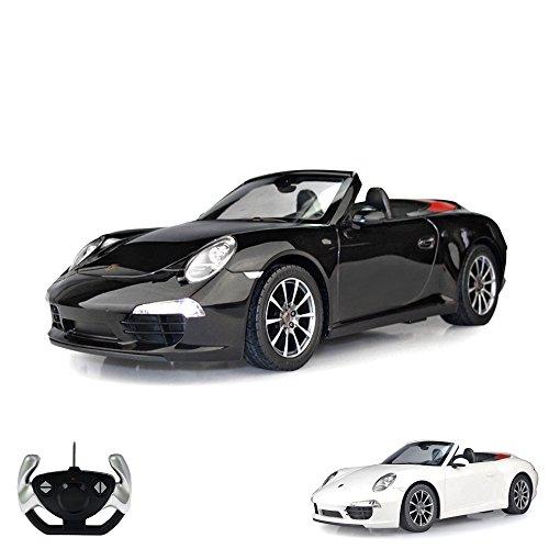 HSP Himoto Porsche 911 Carrera S - RC ferngesteuertes Lizenz-Fahrzeug im Original-Design, Modell-Maßstab 1:12, Ready-to-Drive, Auto inkl. Fernsteuerung