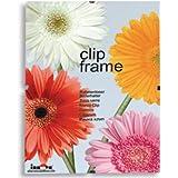 Innova Editions - Cristal para fotografía (28 x 35 cm, tablero trasero blanco, sujeción por clips)