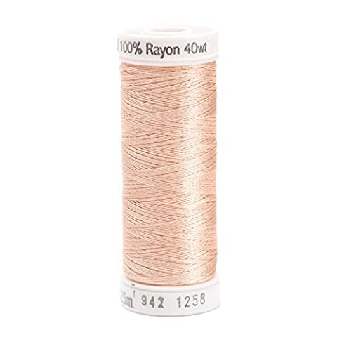 Sulky Rayon Thread for Sewing, 250-Yard, Coral Reed by Sulky