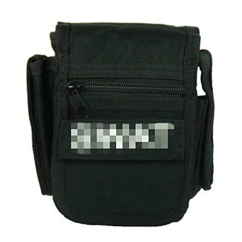 NEW Outdoor militare tattico tasche, quadrato piccolo Fan Strumento Borsa marsupio portafoglio custodia Pouch, CP camo Black