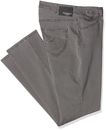 Brax Raphaela by Damen Jeanshose 10-6220 Corry Fame (Comfort Plus), Grau (GREY 7), Gr. 38 (Five-pocket Weites Bein Jeans)