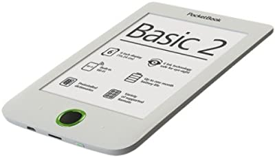 Pocketbook PB614B2W lectore de e-book - E-Reader (Micro-USB A, Ión de litio, E Ink Pearl, MicroSD (TransFlash), 800 x 600 Pixeles, CHM, DjVu, DOC, DOCX, ePub, FB2, HTM, HTML, MOBI, PDF, PRC, RTF, TCR, TXT)