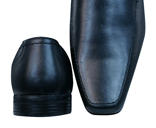Zapatos Hombres Burocracia Mocasines Ante 2 Negros Del Mersey PPEOqR