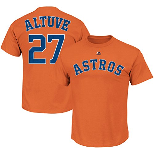 Outerstuff José Altuve Houston Astros #27 orange, Jungen, Orange, X-Large 18/20 US -