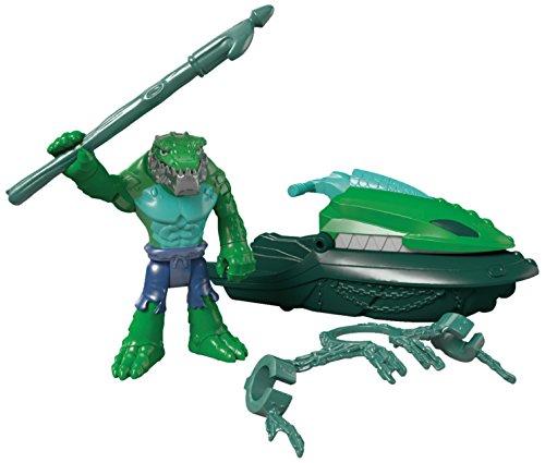 Fisher-Price - BFT59 - Imaginext - DC Super Friends - K.Crok & Swamp Ski