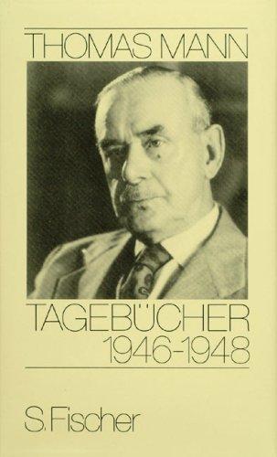Buchseite und Rezensionen zu 'Tagebücher 1946-1948' von Thomas Mann