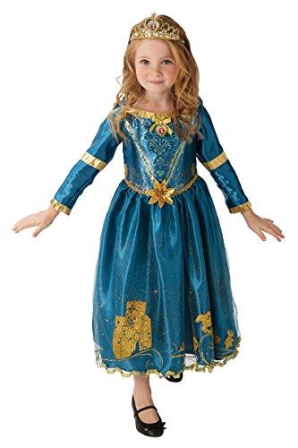 Rubies s oficial de Disney princesa valiente Merida Childs Deluxe disfraz