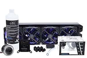 Alphacool NexXxoS Cool Answer 480 D5/UT Processeur eau et gaz réfrigérants - eaux et gaz réfrigérants (Noir, 124 mm, 517 mm, 60 mm, 6,92 kg, Boîte)