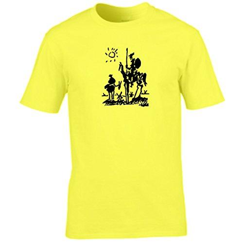 S Tees -  T-shirt - Collo a U  - Maniche corte - Uomo Yellow