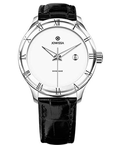 Jowissa Romo Swiss J2.191.L - Reloj para Hombre, Color Blanco y Negro