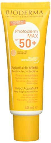 Bioderma Photoderm Max SPF 50+ Aquafluide 40 ml - Teinte : Claire