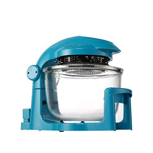 MIAO@LONG Freidora de Aire Multifunción hogar Máquina de Papas Fritas Capacidad de 7 l Horno halógeno de convección Operación Simple para freír al Aire Asado Azul