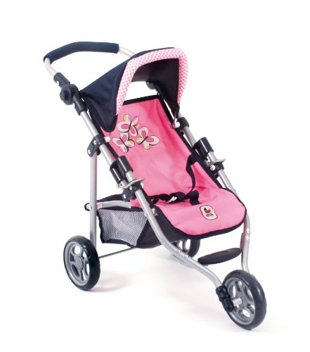 Bayer Chic 2000 612 46 - Jogging-Buggy - Lola, pink checker