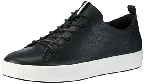 Ecco Damen Soft 8 Ladies Sneakers, Schwarz (1001BLACK), 39 EU