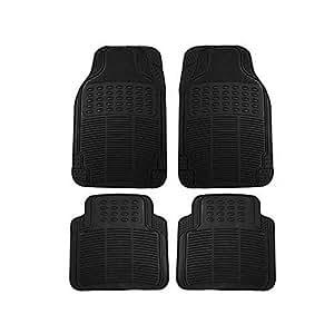 Autofurnish Car Floor Mats (Black) Set Of 4 For Hyundai I-20