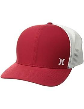 Hurley Milner Trucker Gorra, Hombre, Rojo (Gym Red), Talla Única