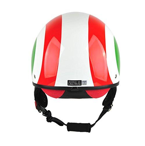 Zoom IMG-3 bhr 94180 casco uomo pure