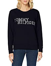 Tommy Hilfiger Christa Relaxed C-nk Sweatshirt Suéter para Mujer