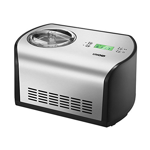 UNOLD Eismaschine One, mit Kompressor, 1,2 Liter Eiscreme, 48865