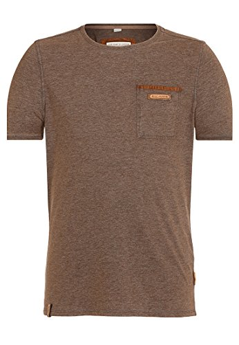 Naketano Male T-Shirt Suppenkasper VII Heritage Anthracite Melange