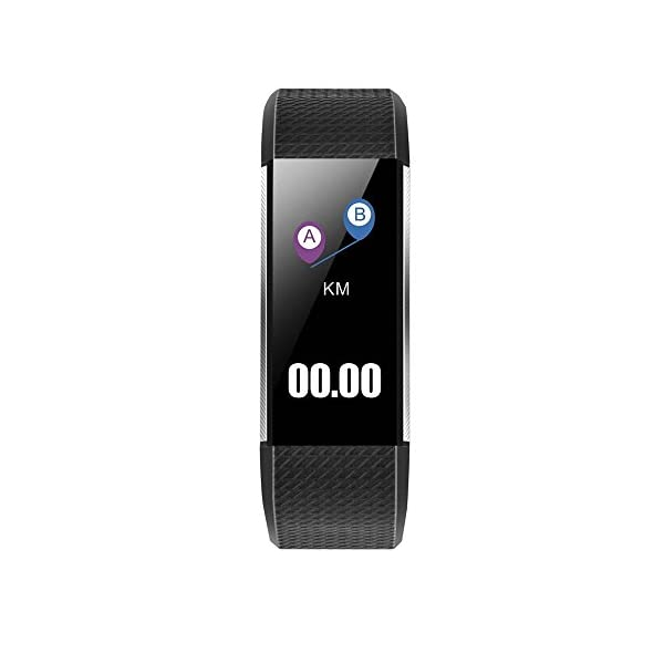 Fitness And Wellness Activity Tracker Smart Watch For Android IOS Vneirw M200 096 Sport Watch Smart Watch With BluetoothHeart Rate MonitorPedometer Blood Print