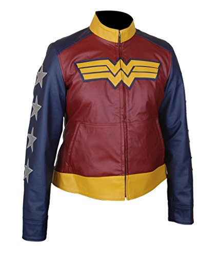 F&H Women's Wonder Woman Gal Gadot Jacket S Multi