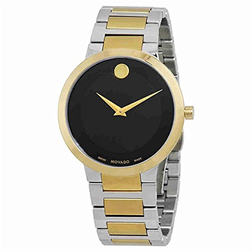 Movado Men's Modern Classic 39mm Two Tone Steel Bracelet Quartz Watch 0607120