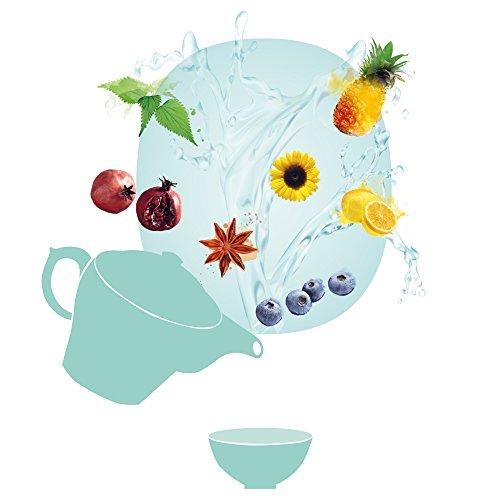 Shuyao Iced Tea Set 3 x 50g loser Früchtetee ohne Koffein 150g
