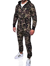 MT Styles Jumpsuit ARMY Camouflage homme R-5105