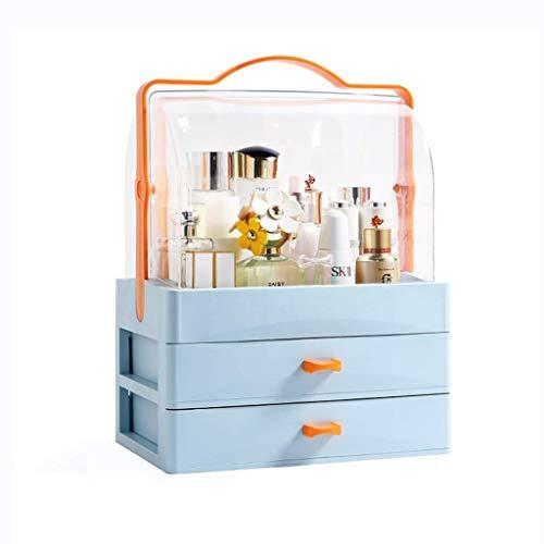 IRVING Cosmetic Storage Organizer - Organisieren Sie ganz einfach Kosmetik, Schmuck und Haarschmuck. Sieht elegant aus auf Ihrer Eitelkeit, Badezimmer Theke oder Kommode sitzen. - Badezimmer-eitelkeit-sitz