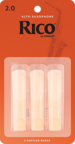 Rico RJA0320 2,0 Reeds für Alto Sax, 3er Pack