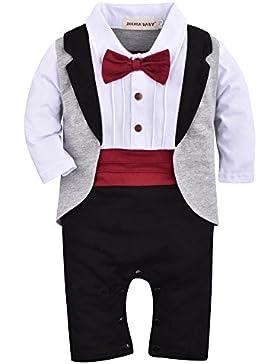 Zoerea Säuglings babys scherzt Kinder kleidungs mantel Weste Spielanzug der Ausstattungs overall mit langen Ärmeln...