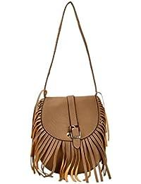 Shopclans Brown Color Handbag For Girls / Women's (SPC-090)