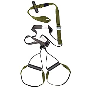 Variosling® Schlingen-Trainer Military Force Tactical grün - Made in Germany Suspension Trainer, Functional Trainer
