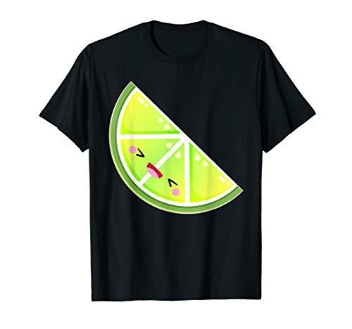 Grünes Kalk-Kostüm für die Gruppe, die Halloween-Geschenke T-Shirt