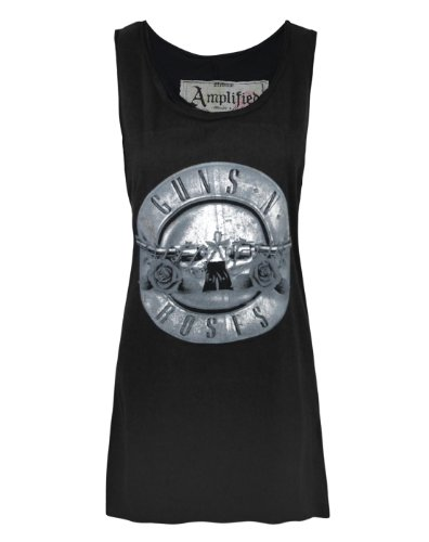 Amplified Guns N Roses Foil Drum Women's Dress