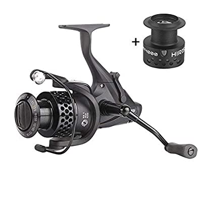 Hirisi Tackle Faster Speed 5.5:1 Carp Fishing Reel For Freshwater Free Spool from Hirisi