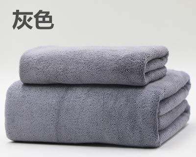 Badetuch Großhandel Erwachsene Schönheitssalon Bettlaken Hotel Baden Spezial als Reine Baumwolle weichen saugfähigen Handtuch Anpassung, grau mittelstarkes Badetuch Handtuch, 20 ()