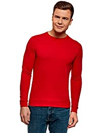 outlet store 4bd06 a27af Amazon.it: maglia rossa - Maglie a manica lunga / T-shirt ...
