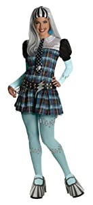 Monster High - Disfraz de Frankie Stein para mujer, Talla única adulto (Rubie