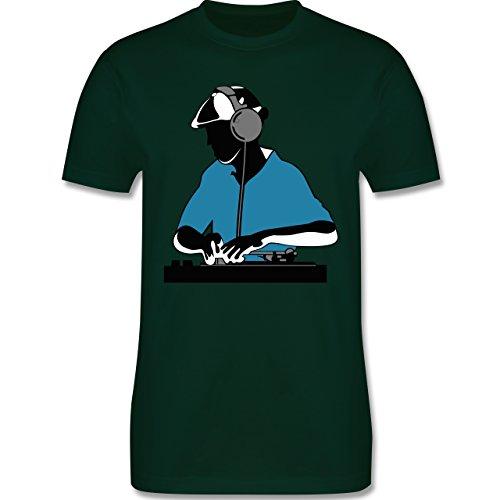 DJ - Discjockey - Discjockey - Herren Premium T-Shirt Dunkelgrün