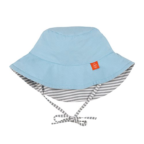 Lässig 1433005211 Baby Sun Protection Bucket Hat Sonnenhut, Small Stripes, Size: New Born 0-6 Monate, mehrfarbig (Stripe Sonnenhut)
