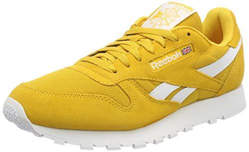 5907676b Reebok Cl Leather Mu, Zapatillas para Hombre, Amarillo (Essential-Fierce  Gold/
