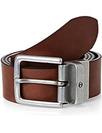 Timberland New Reversible Belt–Black/Cocoa