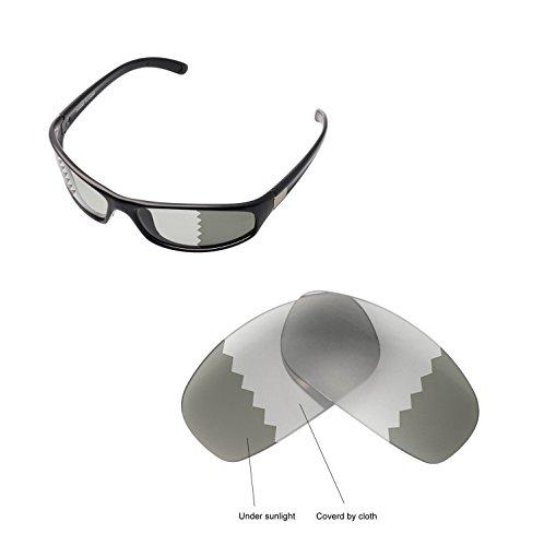 Walleva Ersatzgläser für Bolle Anaconda Sonnenbrille - Mehrfache Optionen verfügbar (Übergang - Polarisiert)