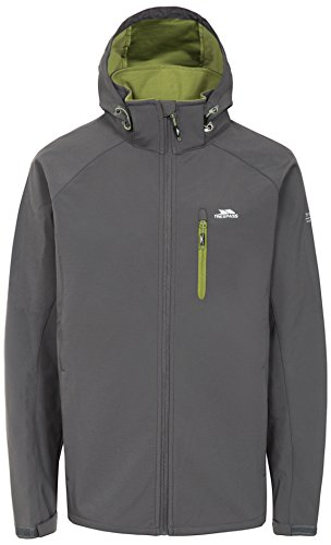 Trespass Hombres Nider Impermeable Softshell/al Aire